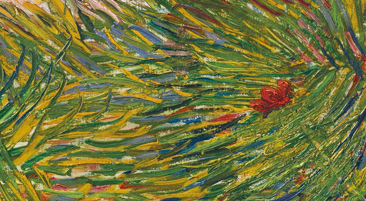 Vincent van Gogh, Garden Coin With Butterflies, 1887 (Detail 3)