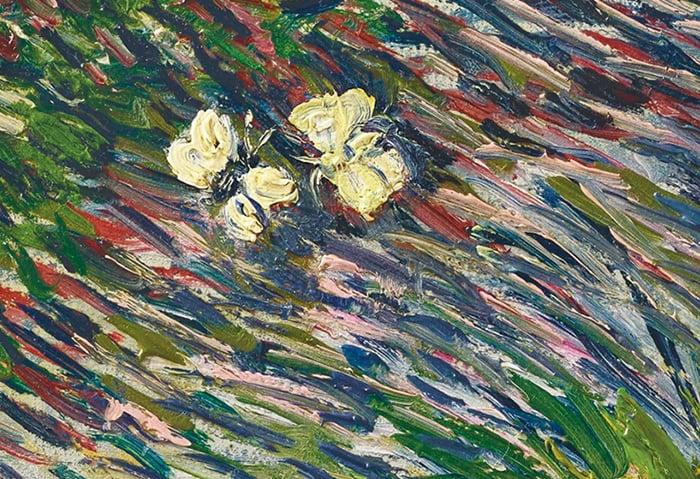 Vincent van Gogh, Garden Coin With Butterflies, 1887 (White Butterflies 2)
