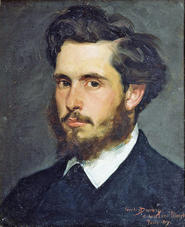 Carolus-Duran, Portrait of Claude Monet, c.1867