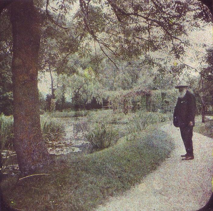 Claude Monet, 1917 (2)