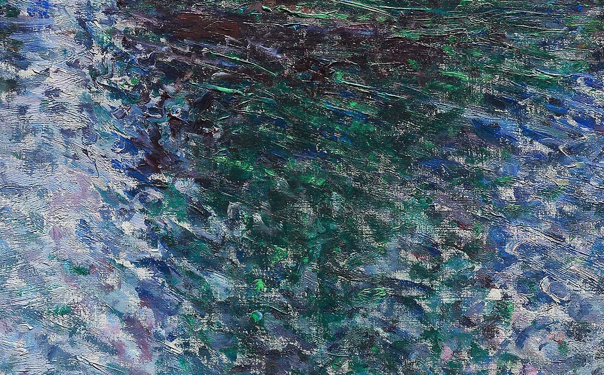 Claude Monet, Belle-Ile, Rocks at Port-Goulphar, 1886 (Detail)
