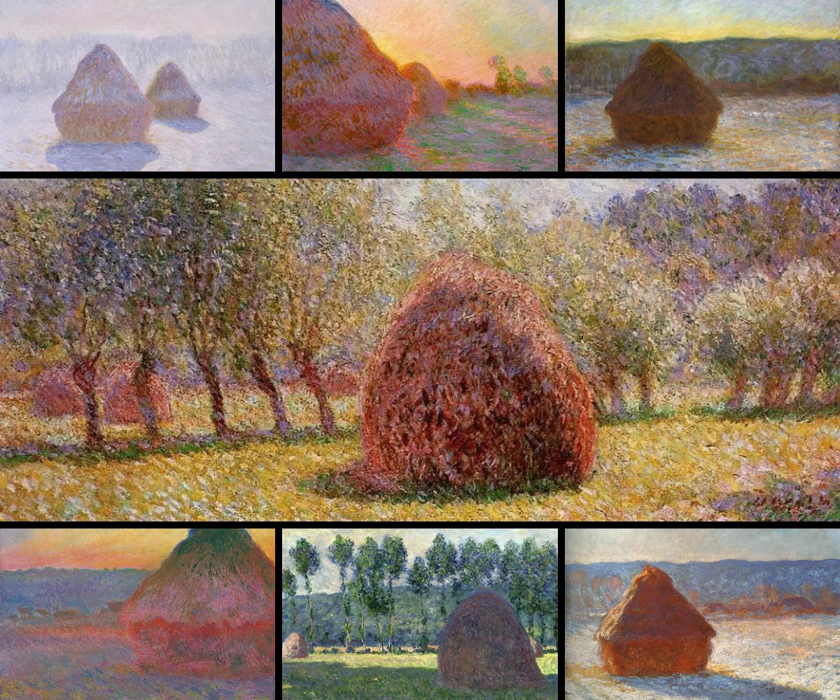 Claude Monet, Haystacks