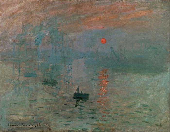 Claude Monet, Impression Sunrise, 1872