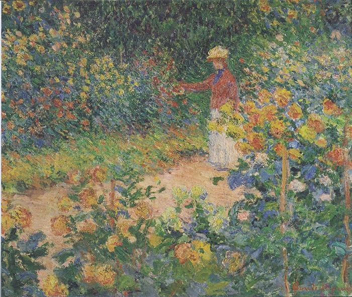 Claude Monet, In the Garden, 1895