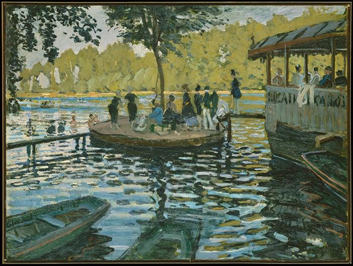 Claude Monet, La Grenouille, 1869