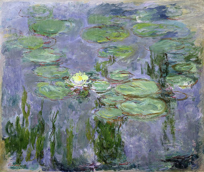 Claude Monet, Nympheas, 1915