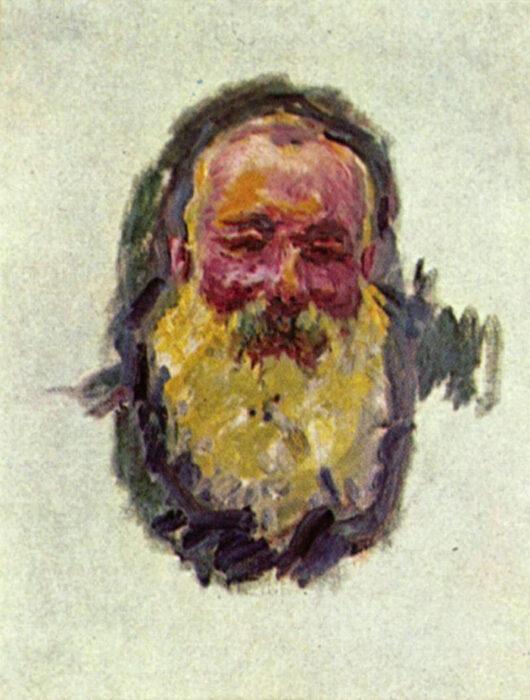 Claude Monet, Portrait of the Artist, 1917