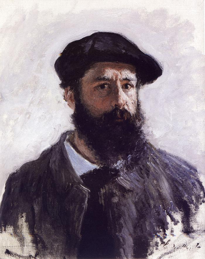 Claude Monet, Self-Portrait in Beret, 1886