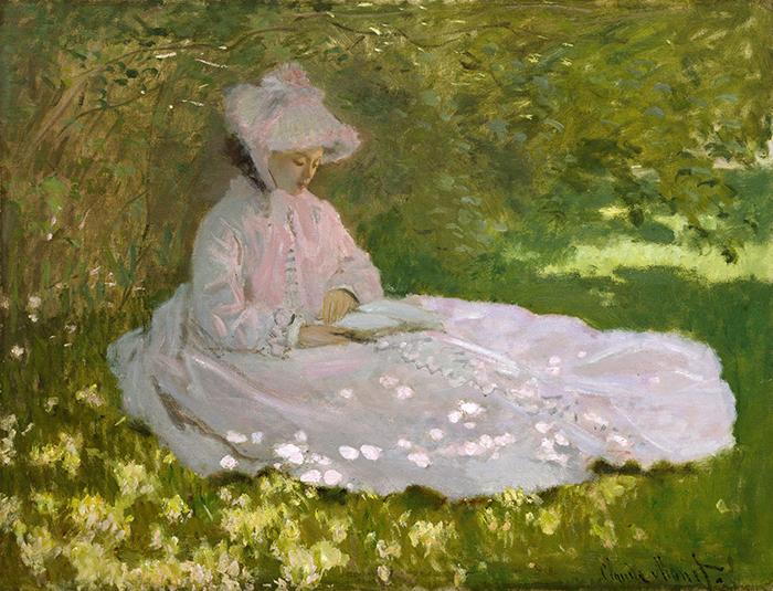 Claude Monet, Springtime, 1872