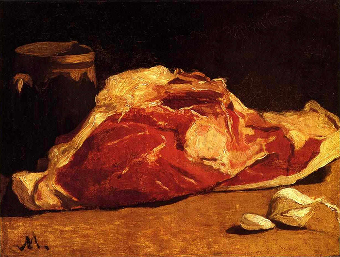 Claude Monet, Still Life With Meat, 1864