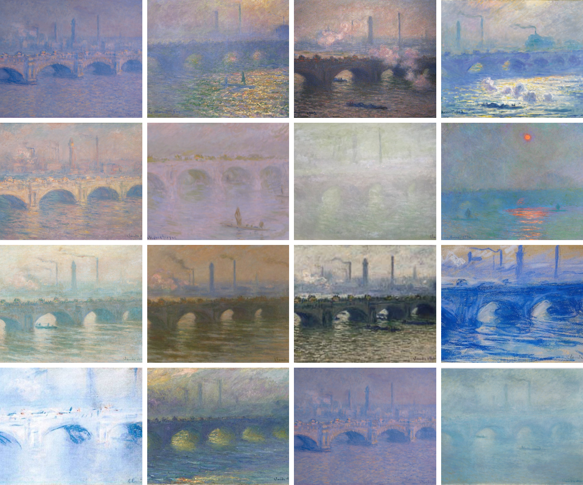 Claude Monet, Waterloo Bridge Series