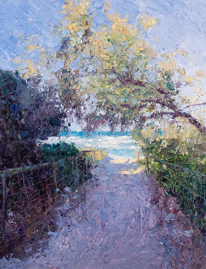 Dan Scott, Gold Coast, Path to the Sea, 2021