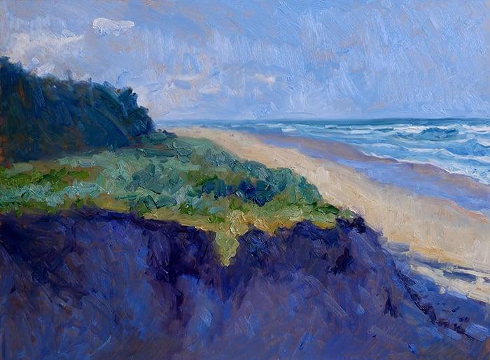 Dan Scott, Gold Coast, Sand Dune, 2021 WIP (12)