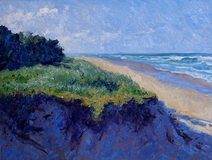 Dan Scott, Gold Coast, Sand Dune, 2021 WIP (14)