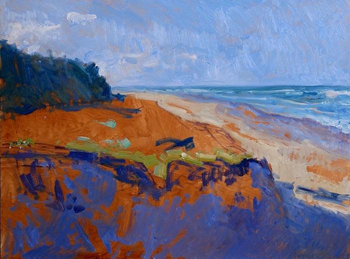 Dan Scott, Gold Coast, Sand Dune, 2021 WIP (8)