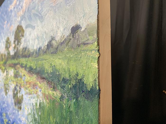 Dan Scott, Minnippi Parklands, Sunny, 2021, Detail 5