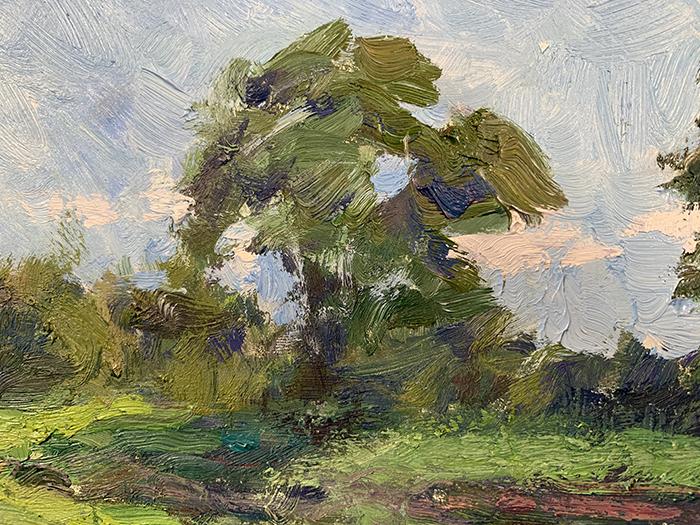 Dan Scott, Minnippi Parklands, Sunny, 2021, Detail 6