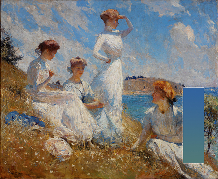 Frank Benson, Summer (Gradation Sea)