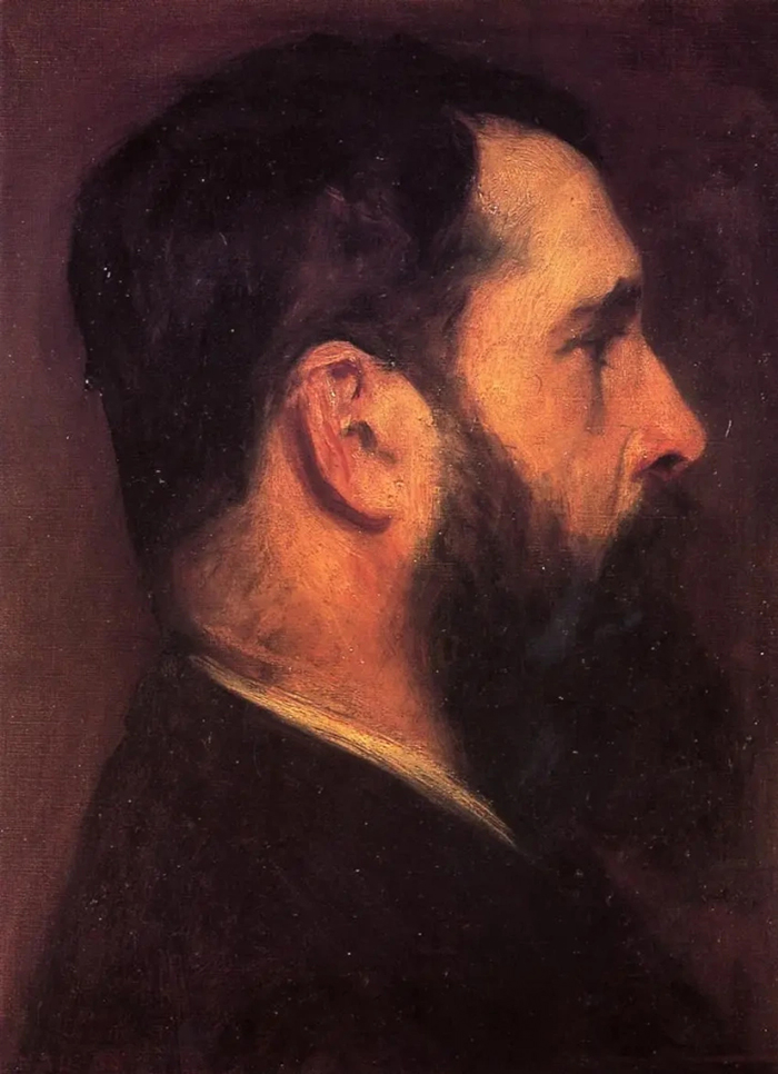 John Singer Sargent, Portrait of Claude Monet, 1887