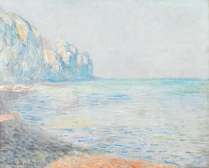 Claude Monet, Foggy Morning at Pourville, 1882