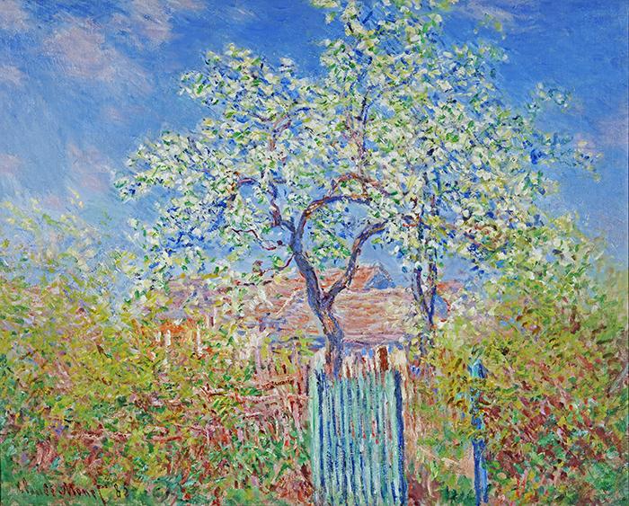 Claude Monet, Pear Tree in Flower