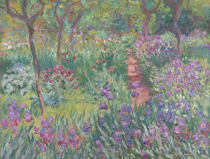Claude Monet, The Artist's Garden in Giverny, 1900