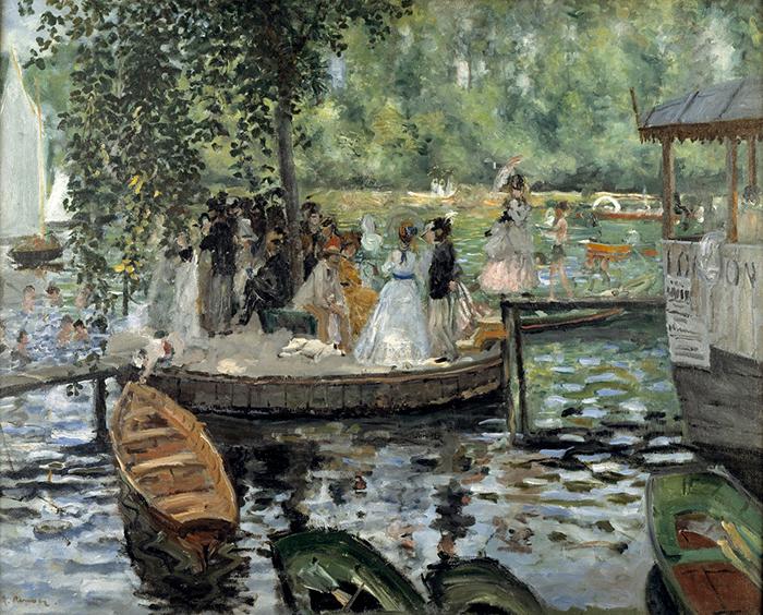 Pierre-Auguste Renoir, La Grenouille, 1869