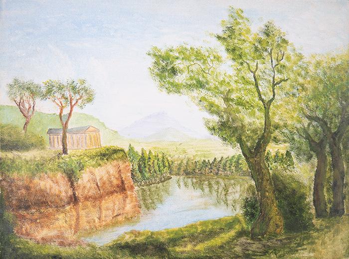 Dan Scott, Childhood Painting (10)
