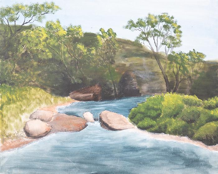 Dan Scott, Childhood Painting (11)