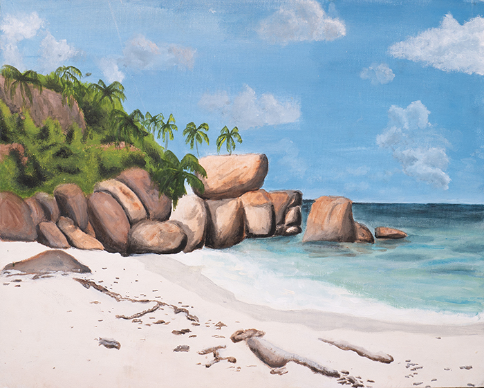 Dan Scott, Childhood Painting (13)