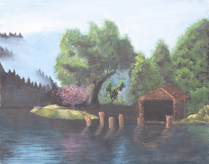 Dan Scott, Childhood Painting (14)
