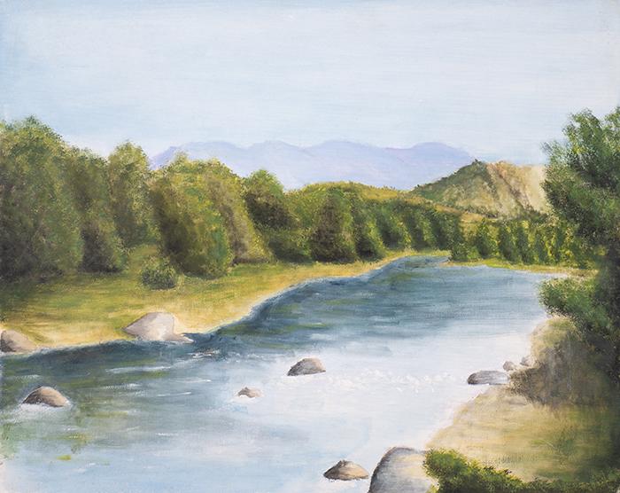 Dan Scott, Childhood Painting (15)