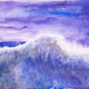 Dan Scott, Childhood Painting (2)