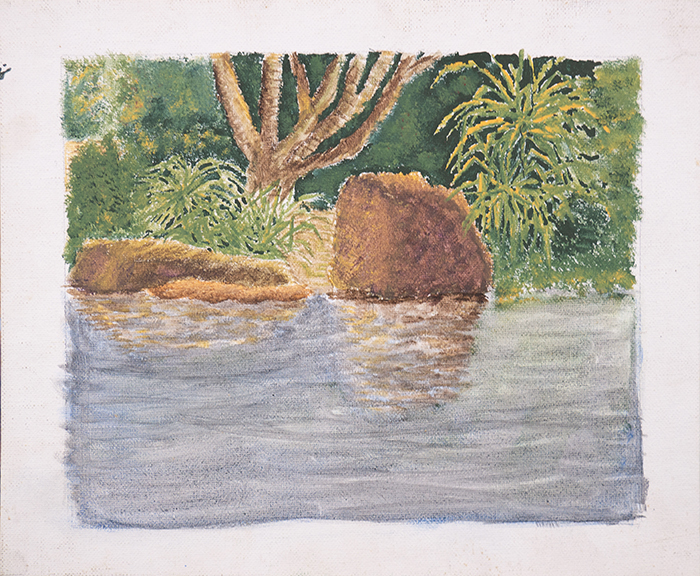 Dan Scott, Childhood Painting (3)