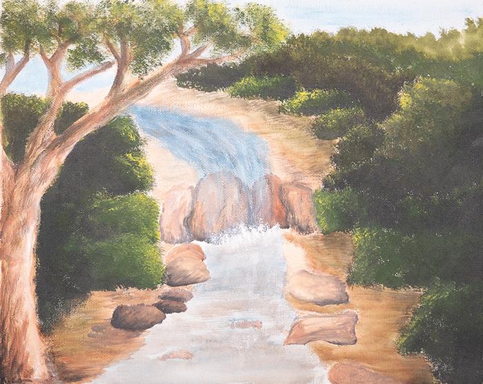 Dan Scott, Childhood Painting (6)