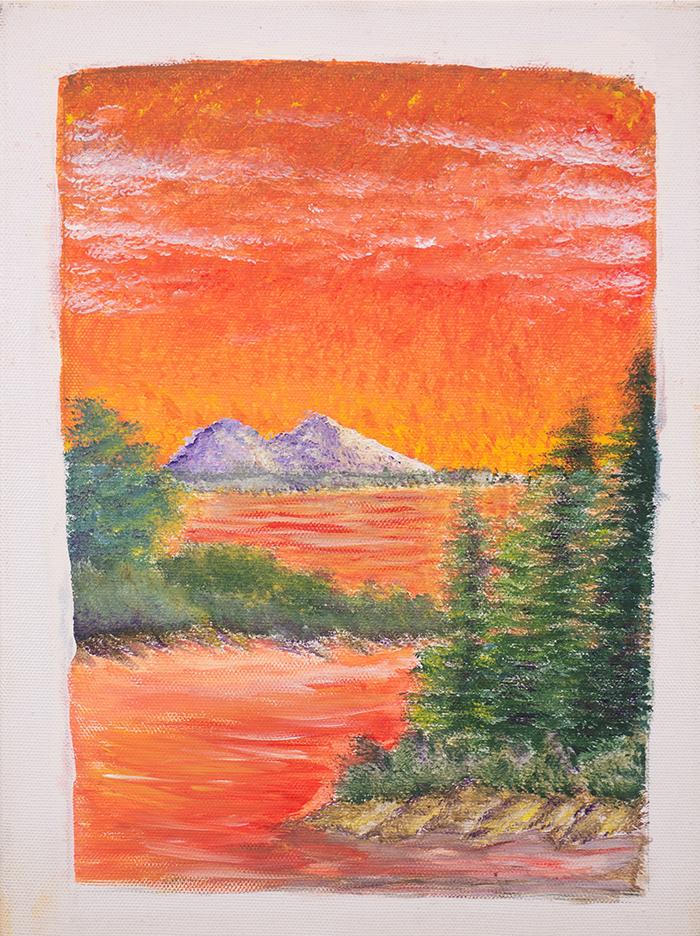 Dan Scott, Childhood Painting (7)