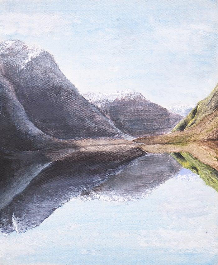 Dan Scott, Childhood Painting (9)
