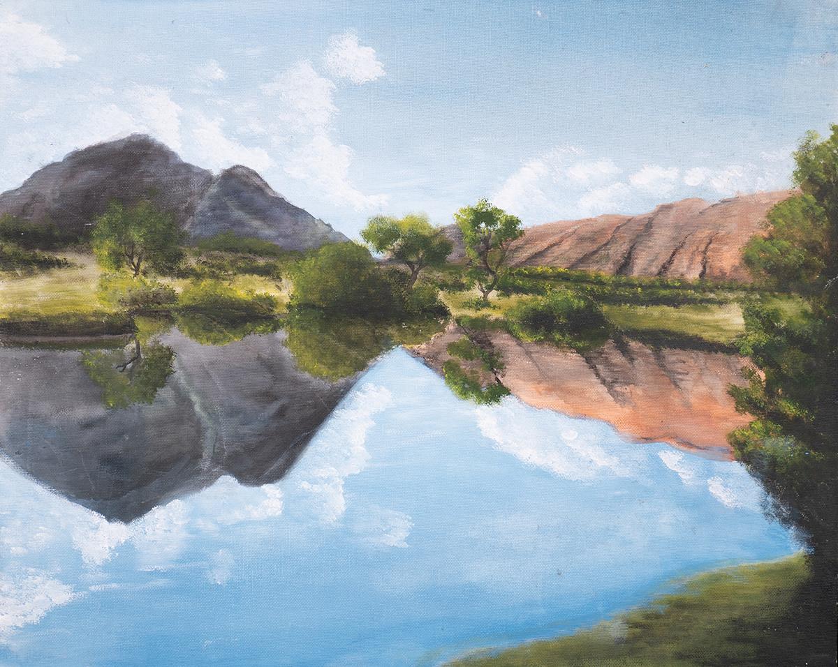 Dan Scott, Childhood Painting (12)