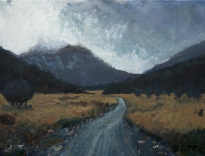 Dan Scott, Overcast Day In New Zealand