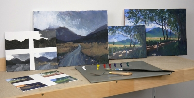 Landscape Painting Masterclass - Paintings And Studies